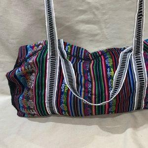 Handbags - Authentic Peruvian Handmade duffle bag Incan